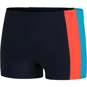 speedo Colourblock Aquashorts Men true navy/volcaorg/hypsonicblu